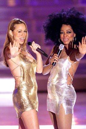 Diana Ross and Mariah Carey at Divas 2000