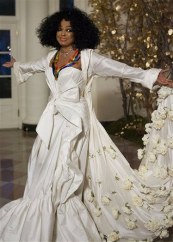 Diana Ross at the Kennedy Center Honors