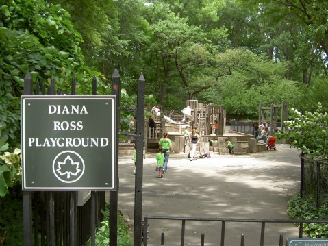 Diana Ross playground