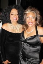 Diana Ross and Mary Wilson