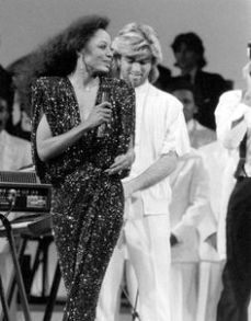 Diana Ross performs at Motown Returns to the Apollo