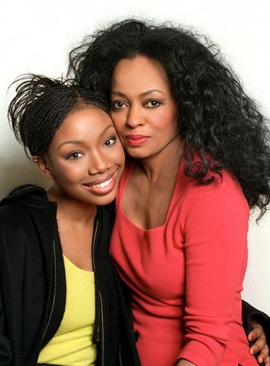 Diana Ross and Brandy in Double Platinum