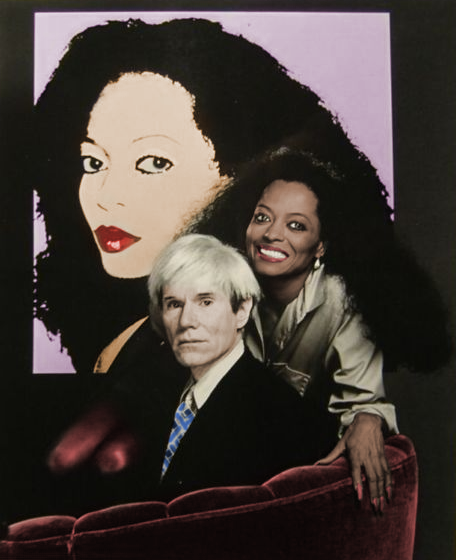 Diana Ross And Andy Warhol Who Designed The Cover Art Of Silk Electric