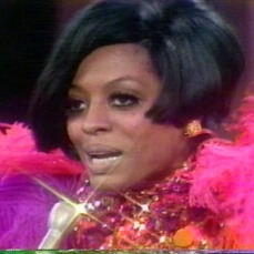 Diana Ross at her first solo TV special, Diana!