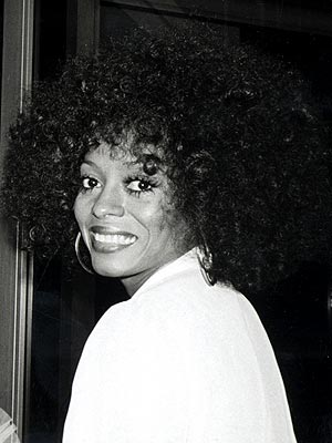 Diana ross at the Academy Awards ceremony