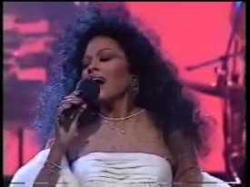Diana Ross at the Royal Variety Performance