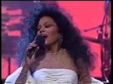 Diana Ross at the Royal Variety Performance