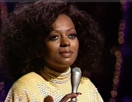 Diana Ross at The Tonight Show