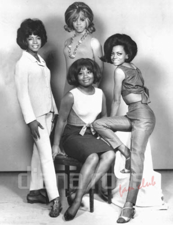 The Primettes (with Barbara Martin - 1960)
