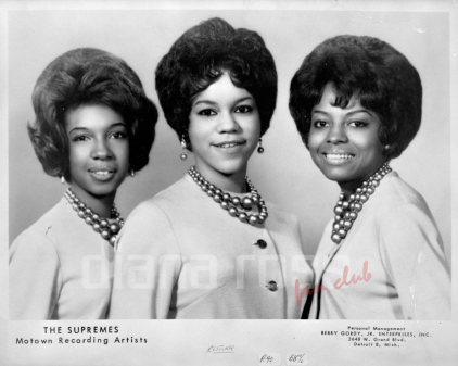 Portrait of The Supremes 1962