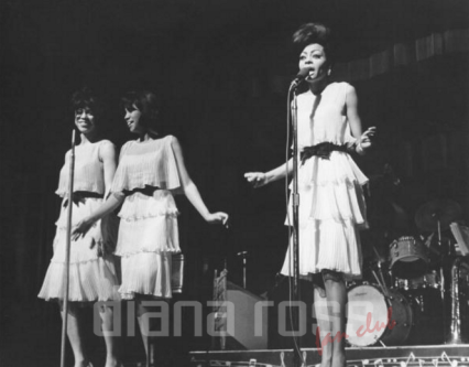 The Supremes at the Motown Revue