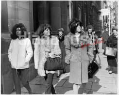 The Supremes walking down the streets