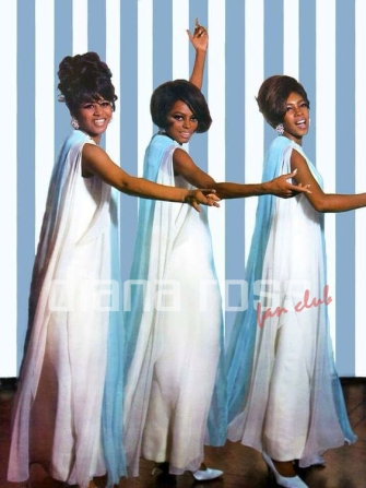 Diana Ross & The Supremes in 1968
