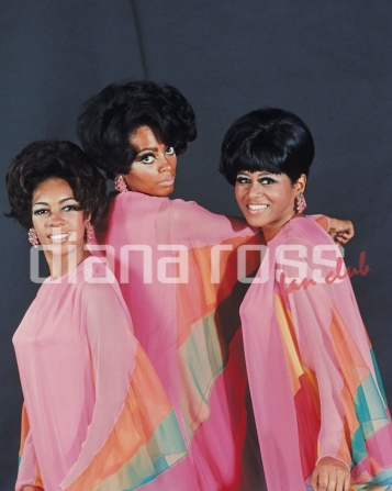 "Diana Ross & The Supremes during a photo session for ""Funny Girl"" album (1968)"