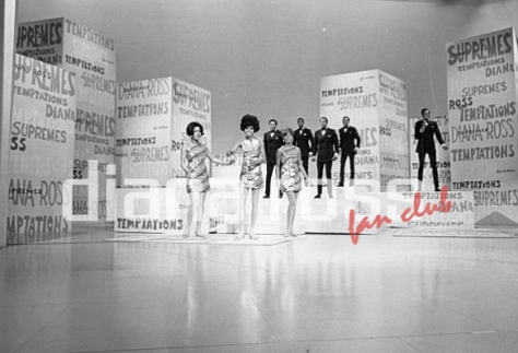Diana Ross & The Supremes & The Temptations on The Ed Sullivan Show (1968)