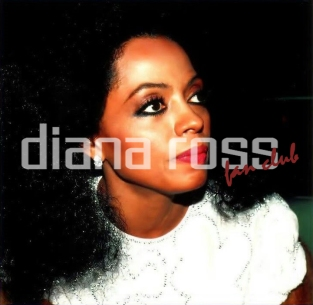 Diana Ross in the mid-80s