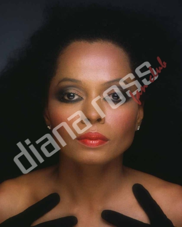 Diana Ross in the late-80s