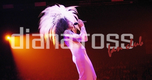 Diana Ross live at Wembley Arena in 2004