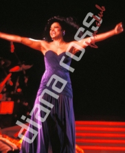 Diana Ross during the Take Me Higher Tour