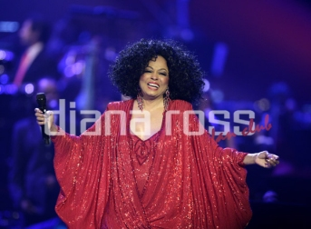 Diana Ross live at the Symphonica in Rosso in 2009