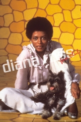 "Diana Ross on the set of ""The Wiz"""